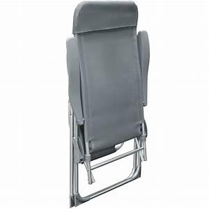 Gartenstuhl Mit Liegefunktion : 2x klappstuhl aluminium hochlehner liegestuhl liege campingstuhl gartenstuhl alu ebay ~ Indierocktalk.com Haus und Dekorationen