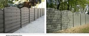 Cloture Beton Imitation Bois : quelques liens utiles ~ Dailycaller-alerts.com Idées de Décoration