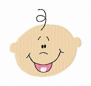 Baby Faces Clip Art Baby face | Clipart Panda - Free ...