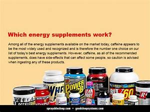 Best Energy Supplements  Side