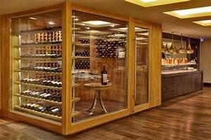 Cave À Vin Design : meuble cave a vin en bois id e d coration ~ Voncanada.com Idées de Décoration