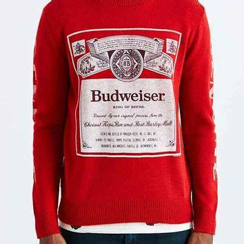 budweiser sweater junk food budweiser crew neck sweater from outfitters