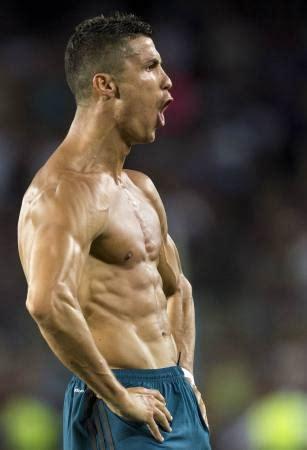 cristiano ronaldo desarrollo su fisico en  programa