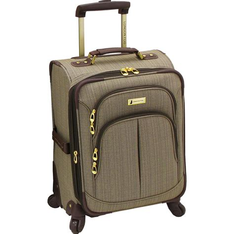 fog luggage warranty fog chatham 20 in expandable carry on spinner
