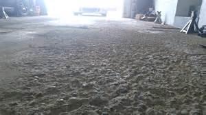 How Repair Pitted Concrete Garage Floor Photo