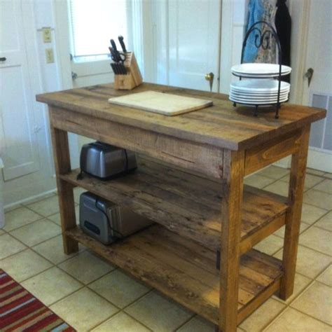 diy kitchen island table 10 diy kitchen islands to really maximize your space 6850