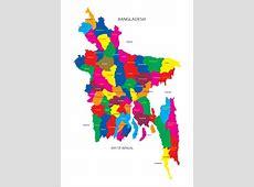 Bangladesh Map Vector vectors stock in format for free