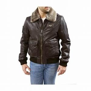 Blouson Cuir Aviateur Homme : blouson cuir homme aviateur topiwall ~ Dallasstarsshop.com Idées de Décoration