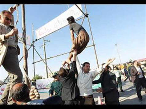 hanging photos the hanging hq iranian man granted mercy by victim s family after execution begins youtube