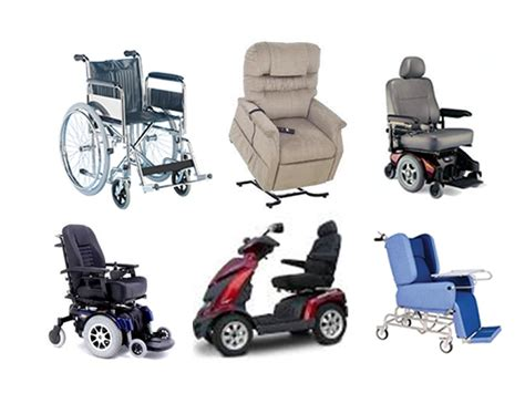 Different Types Of Mobility Equipment Used Around The