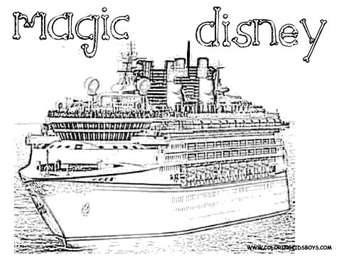 Disney Cruise Coloring Pages Only Coloring Pages
