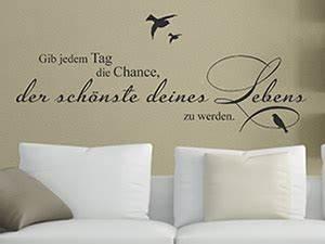 Gras An Die Wand Malen : wandtattoo spr che zur wandgestaltung wandtattoo de ~ Markanthonyermac.com Haus und Dekorationen