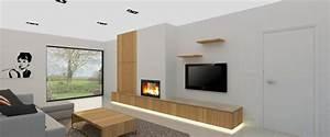Moderne Tv Wand : 3d ontwerp sierschouwen en tv wanden verbouwen pinterest openhaard tv en ontwerp ~ Sanjose-hotels-ca.com Haus und Dekorationen