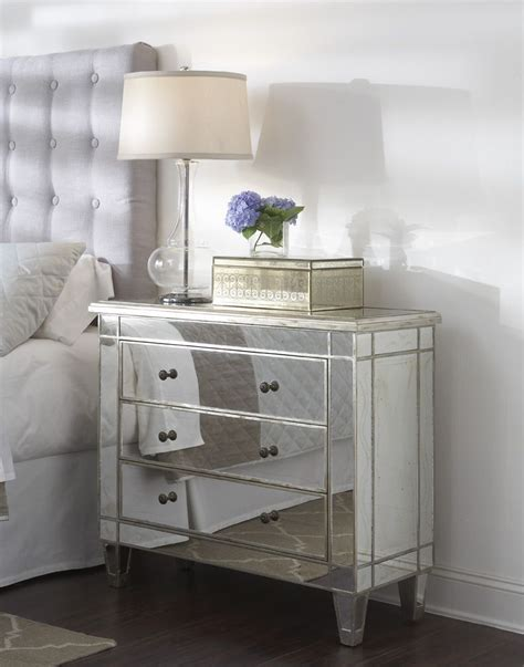 Mirrored Nightstand by Need This Mirrored Nightstand For The Home