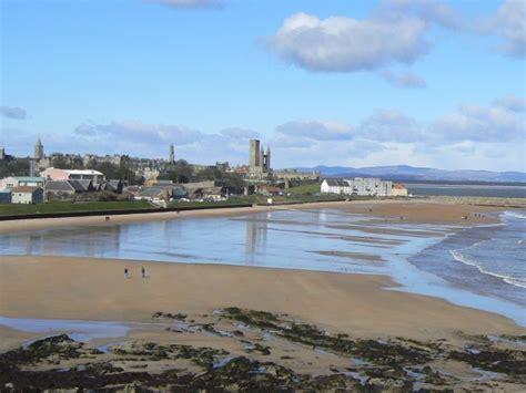 st andrews beaches fife seaside towns uk beach guide