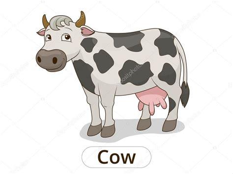 animales dibujos imagenes de vacas ilustraci