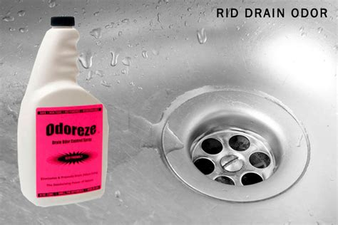sink drain smell cleaner odoreze natural drain smell deodorizer concentrate odor