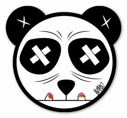 Panda Sticker Sloth Stickers Graffiti Klistremerker Popular