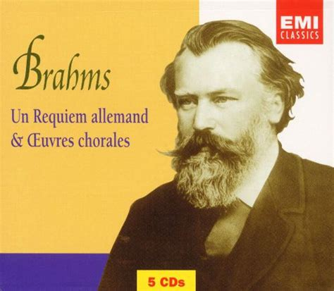 Brahms German Requiem Choral Works [box Set] Various