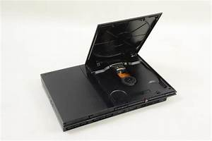 Ps2 Playstation 2 Slim Console Black With Controller