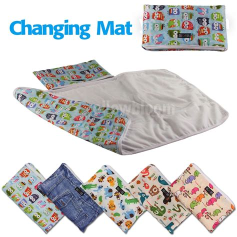 baby change mats baby portable foldable washable compact travel nappy