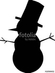 quot silhouette of snowman for greetings card quot stock image and royalty free vector files on fotolia