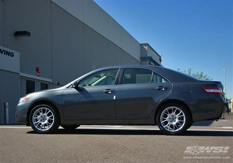 2009 toyota camry with 18 quot bbs ck in silver wheels wheel