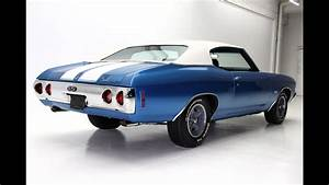 1972 Blue Chevelle Ss