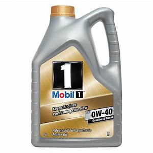 0w40 Mobil 1 Full Synthetic 0w40 5l Engine Oil Mobil 1 New Life 0w