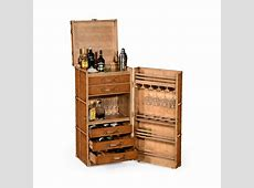 Drinks Cabinet In Travel Trunk Style Swanky Interiors