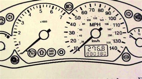 Ford Focus Mk2 Dash Warning Lights & Symbols
