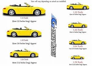 Diecast Model Car Scales  U0026 Sizes