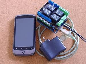Android Controlled Garage Door Remote Pfoddevice U2122 For Arduino