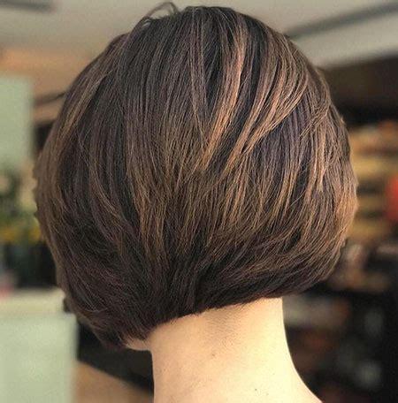 short layered bob hairstyles  thick hair bob