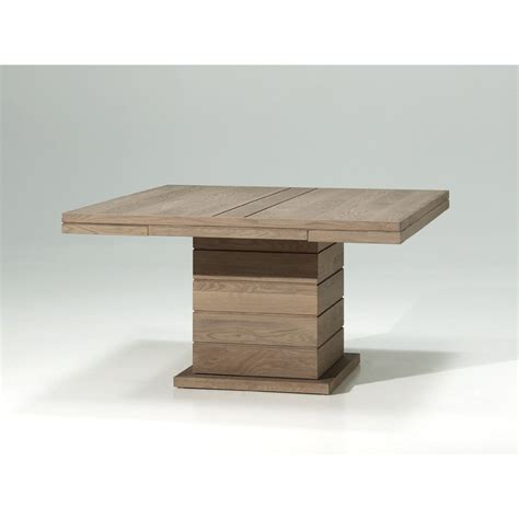 table a manger pied central table carree pied central