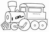 Could Engine Clip Coloring Template Credit Larger sketch template