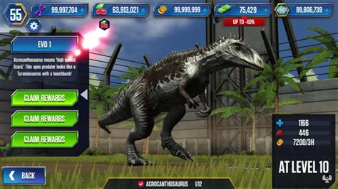 acrocanthosaurusjw tg jurassic park wiki fandom