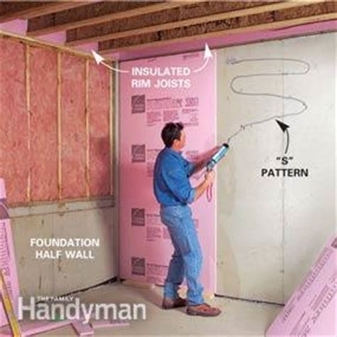 How To Finish A Basement Framing And Insulating — The
