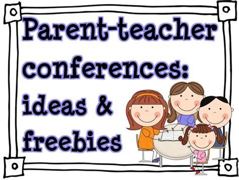 parent conferences ideas amp freebies 564 | parent teacher conferences 1