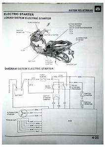 Electric Wiring System Diagram Honda New Pcx 150 2018