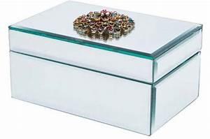 Boite A Bijoux Design : bo te bijoux kare design blanche en verre castafiore porte bijoux pas cher ~ Melissatoandfro.com Idées de Décoration