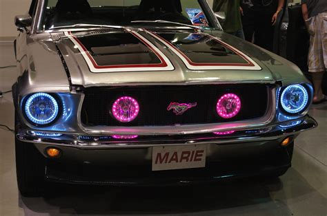 modern headlights for classic cars new classic car headlight makeover products debut at scrapin the coast 12 volt news