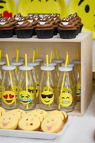 Emoji Birthday Party Food Ideas