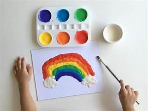 Malen Mit Kleinkindern Ideen : malen mit kindern plusterfarbe selber machen rezept ~ Watch28wear.com Haus und Dekorationen