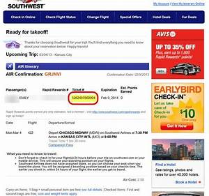 Southwest Airlines Reservations Boarding Pass