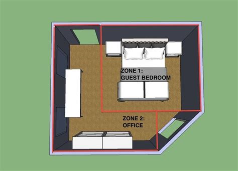 Design Bedroom Office Combo by Best 25 Bedroom Office Combo Ideas On Grey