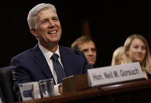 Neil Gorsuch has first day as an associate justice on the ...