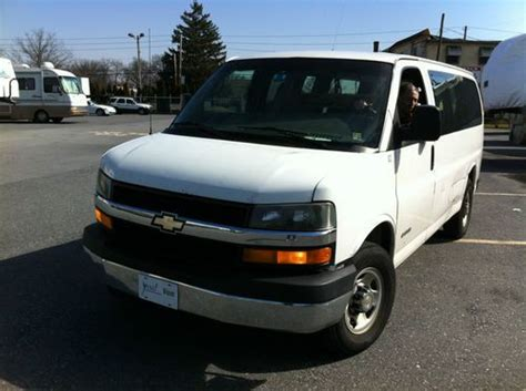 automotive repair manual 2005 chevrolet express 3500 spare parts catalogs purchase used 2005 chevrolet express 3500 base standard passenger van 3 door 6 0l in allentown