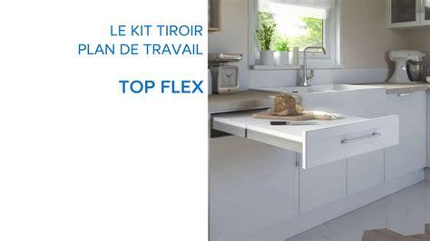 kit tiroir cuisine kit tiroir plan de travail topflex 679075 castorama