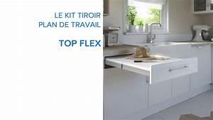 Plan De Travail 90x200 : kit tiroir plan de travail topflex 679075 castorama ~ Melissatoandfro.com Idées de Décoration